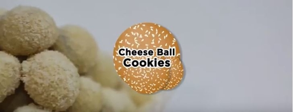 Cheese Balls Cookies Palmboom
