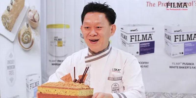 Coffee Mocca Layer Cake by Chef Koko Hidayat