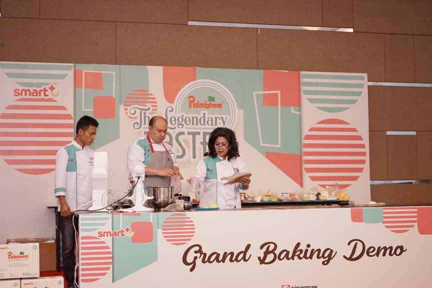 Palmboom Grand Baking Demo Makassar