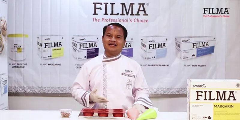 Red Bean Fancy Cake by Chef Rakhmat